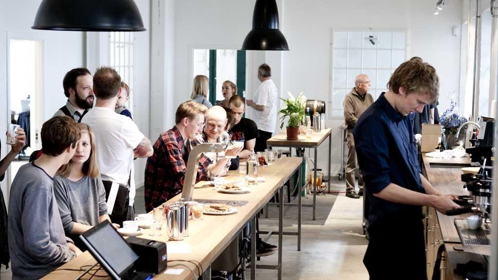 Coffee Collective coffee lab and café in Frederiksberg, Copenhagen