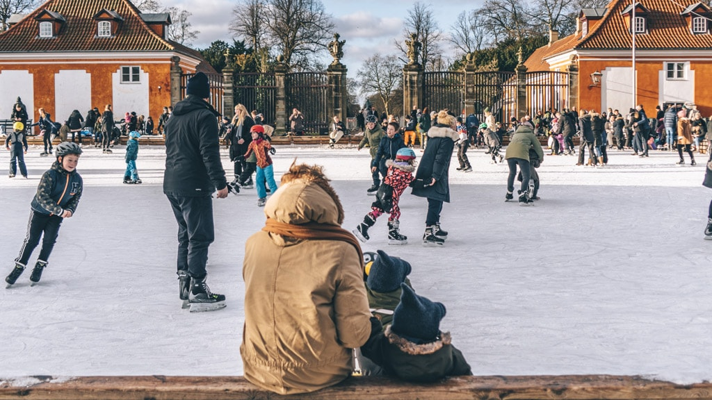 Ice skating is a perfect winter acitivity in Copenhagen