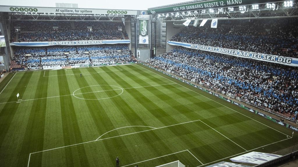Telia Parken Football Østerbro Copenhagen