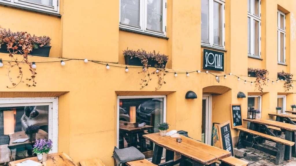 Social kaffebar og cafe i København
