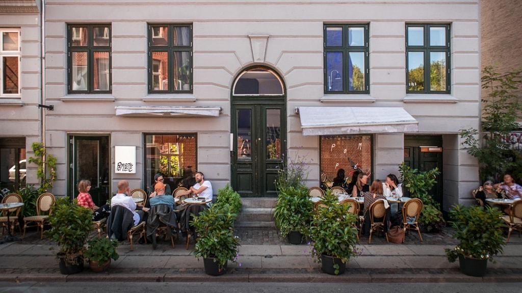 Wine bar Pompette in Nørrebro, Copenhagen