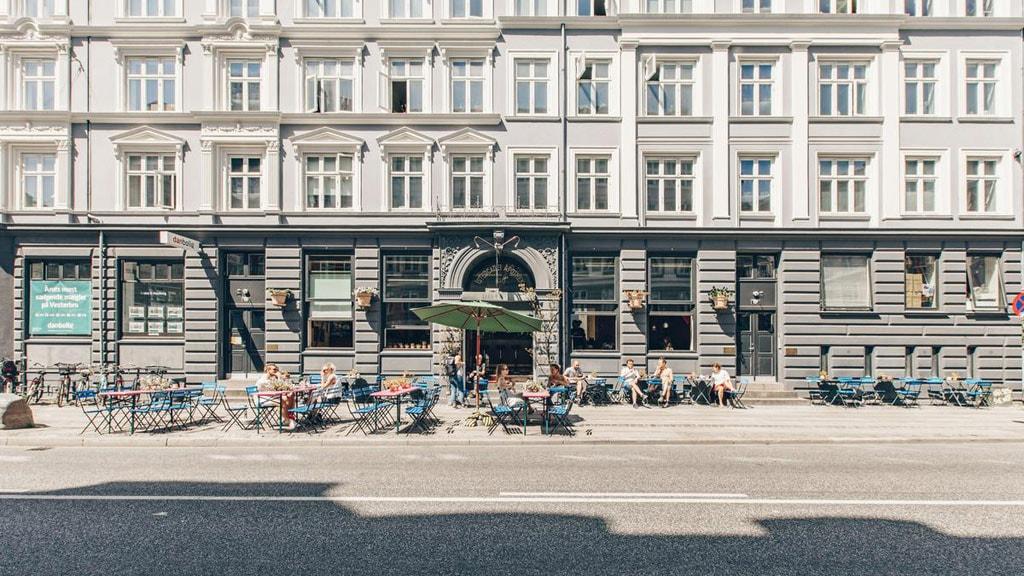 Café Bang & Jensen in Vesterbro