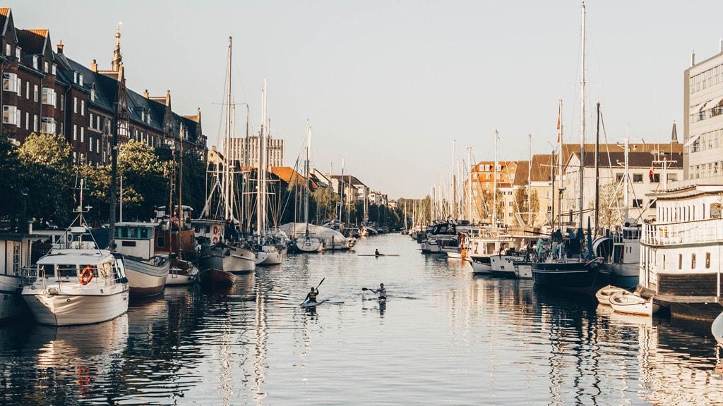 Kanals in Copenhagen waters