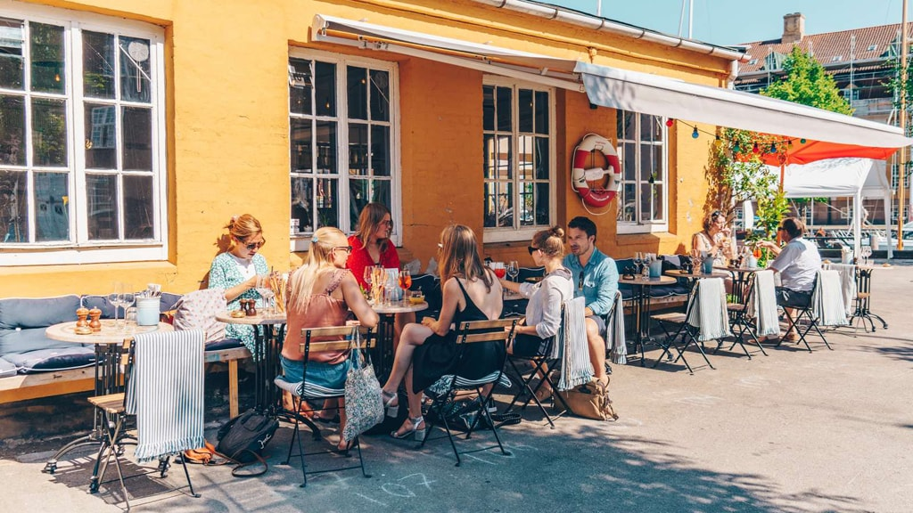Restaurant Undici in Copenhagen.
