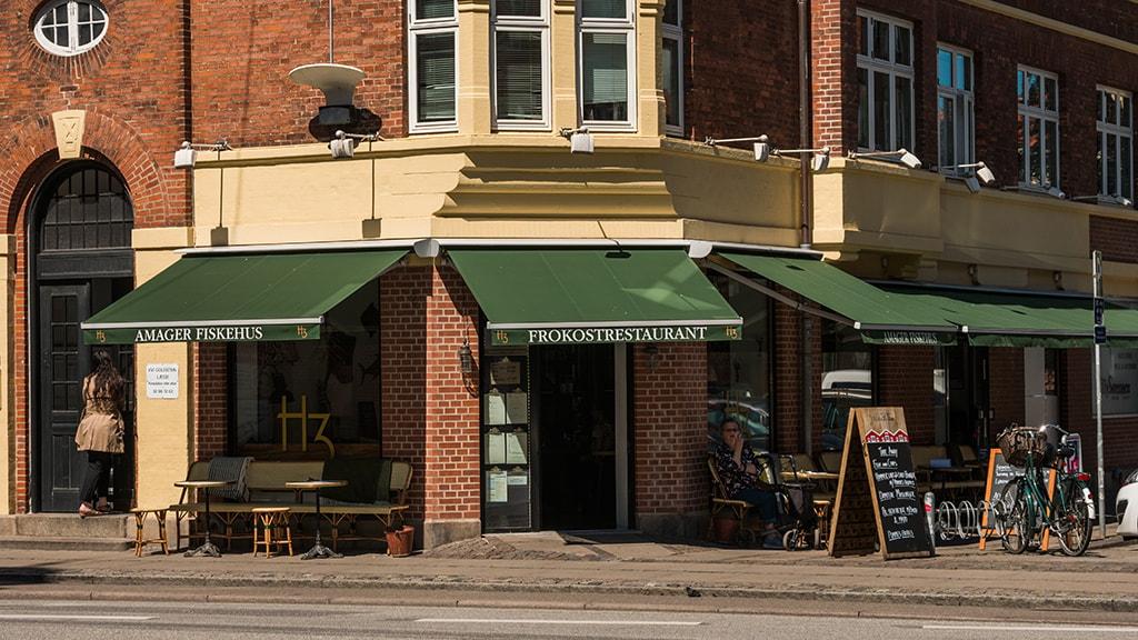 H3 Amager Fiskehus, restaurant