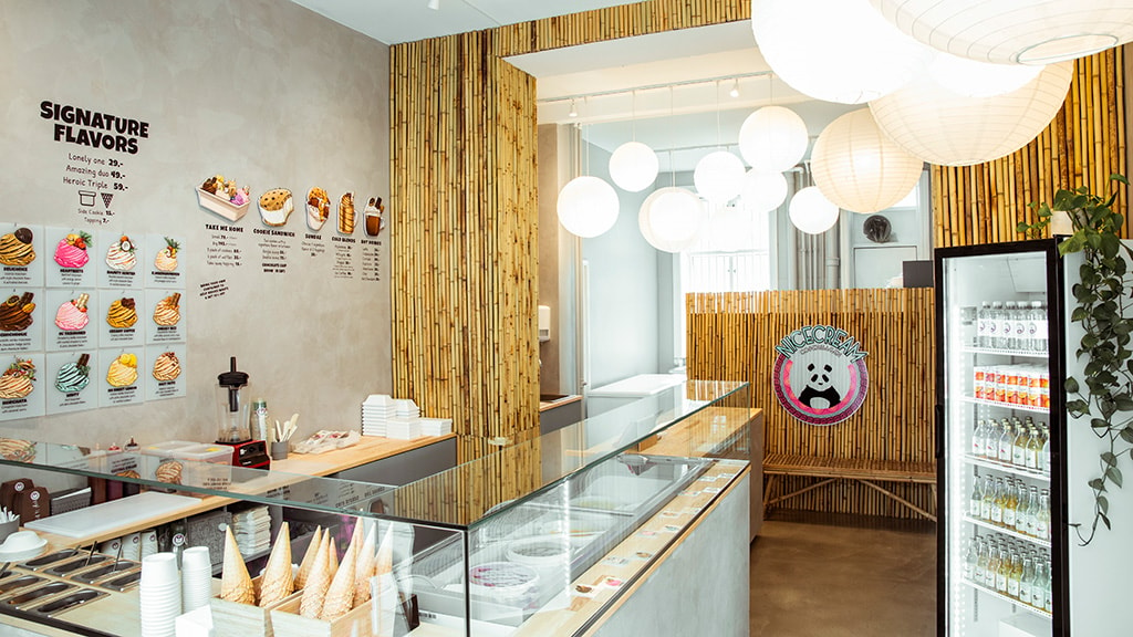 Nicecream icecream shop Copenhagen
