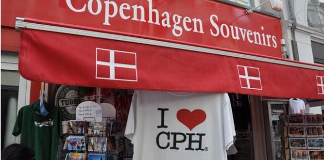 Copenhagen Souvenir Shop Visitcopenhagen