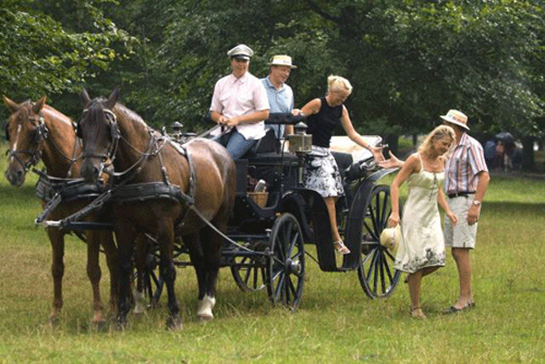 horse drawn carriage rides through dyrehaven woods visitcopenhagen