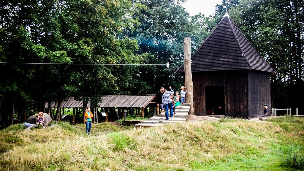 Naturlegepladsen på Esrum Kloster