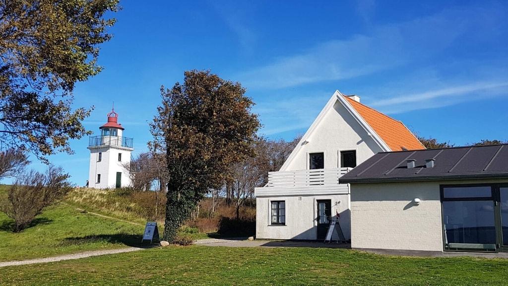 Fyrgården i Hundested. Nabo til Knud Rasmussens Hus og Spodsbjergfyr