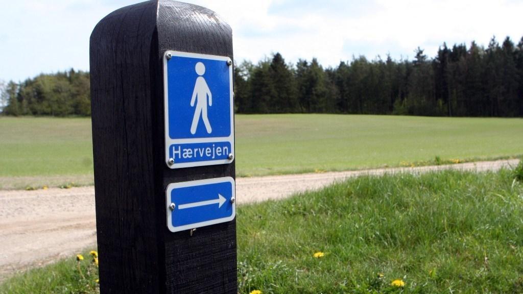 Haervejens Vandreruter I Bronderslev Kommune