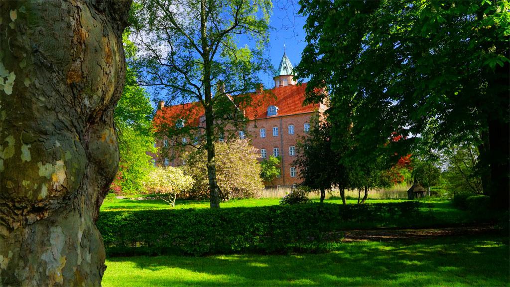 slotte i østjylland