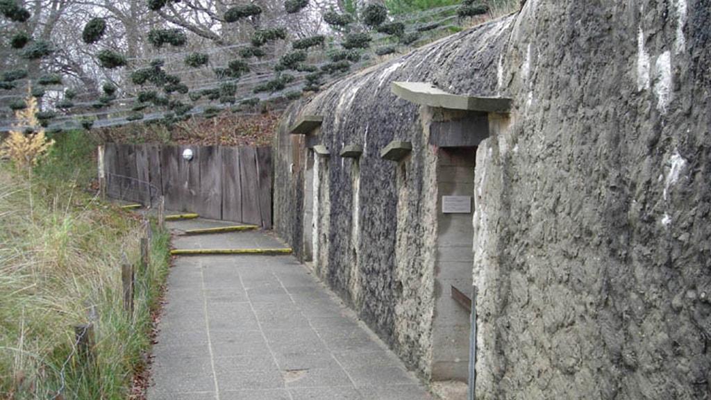 Bunker ved Fiskeri- og Søfartsmuseet Esbjerg