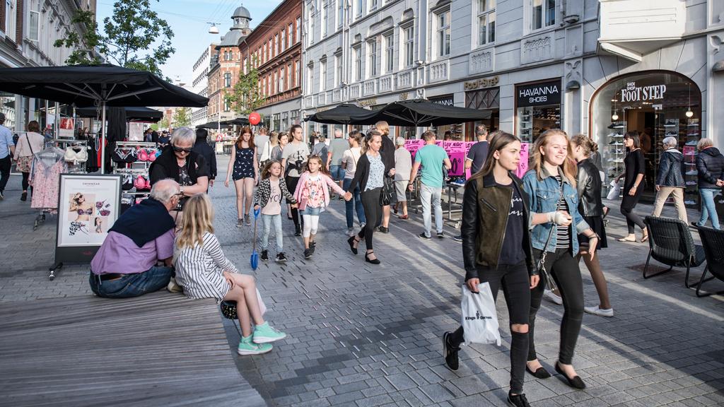 Shopping i Esbjerg City - Danmarks længste gågade | VisitDenmark