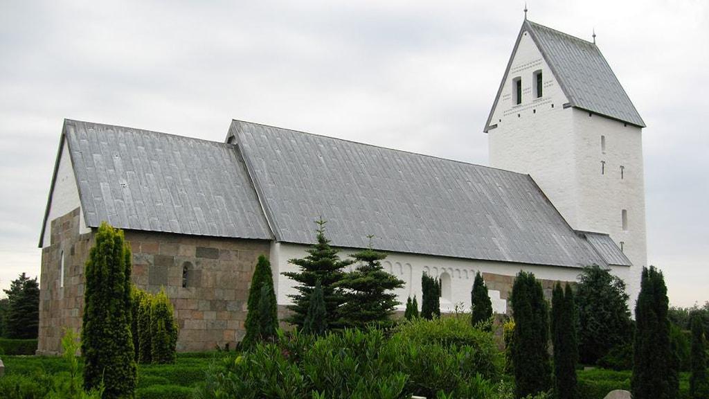 Tjæreborg kirke tæt på Esbjerg