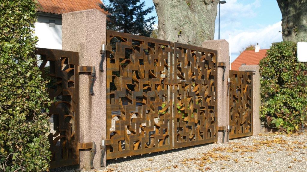 Kirkegårdslåge Vester Aaby