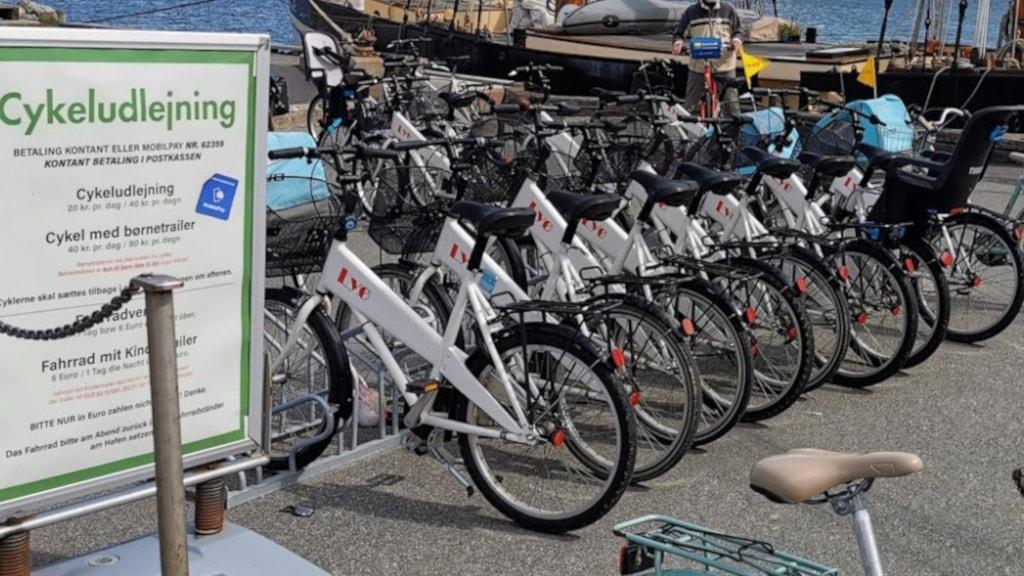 Cykler på Lyø