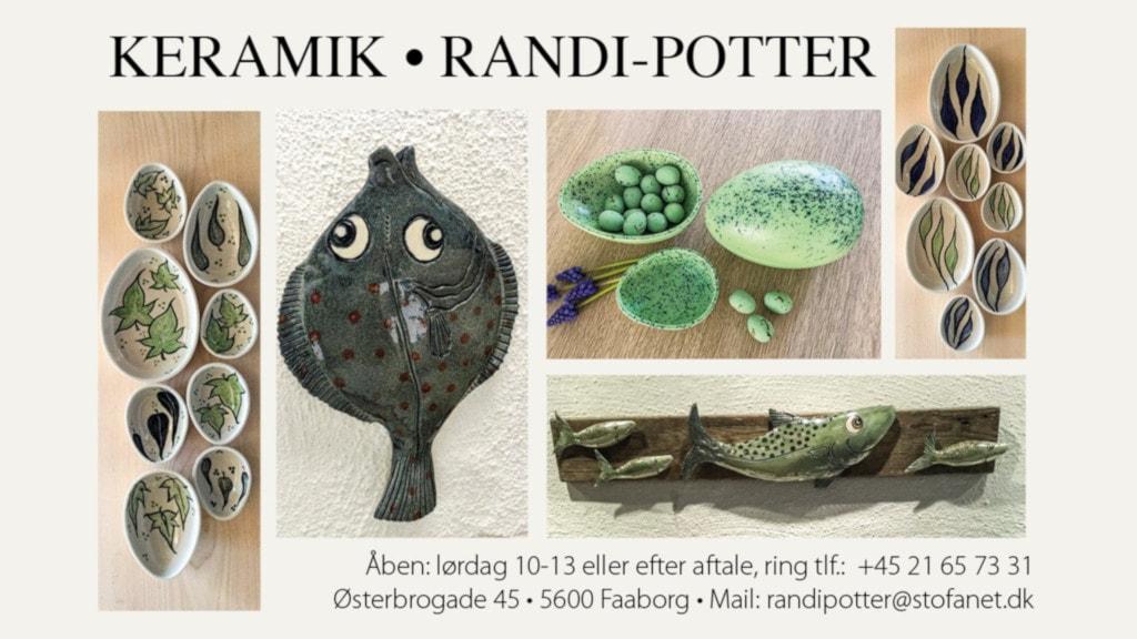Randi Potters Keramik