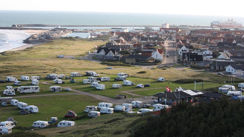 Hirtshals Camping, udsigt