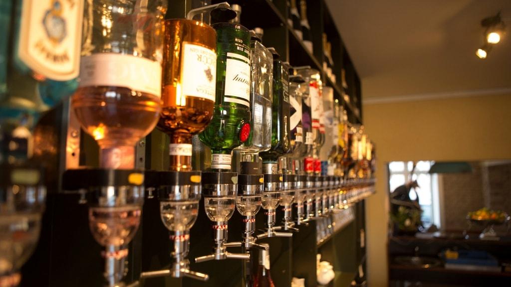 Bar på Café Forsinket