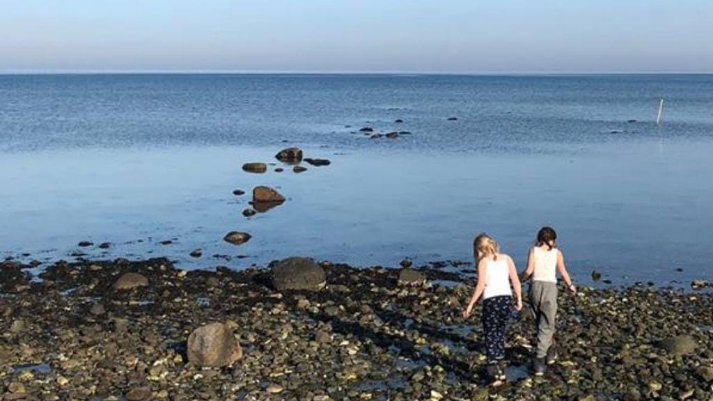 Piger på løserup strand | Foto: Susanne Dannerhøj Hansen