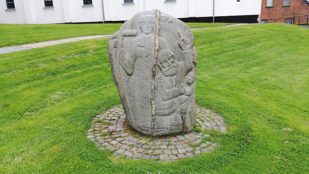 Mindesten over Morten Larsen af Thorvald Westergaard (1)