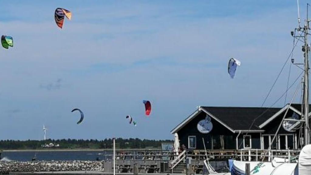 Kitesurfing Handbjerg ved Handbjerg Marina