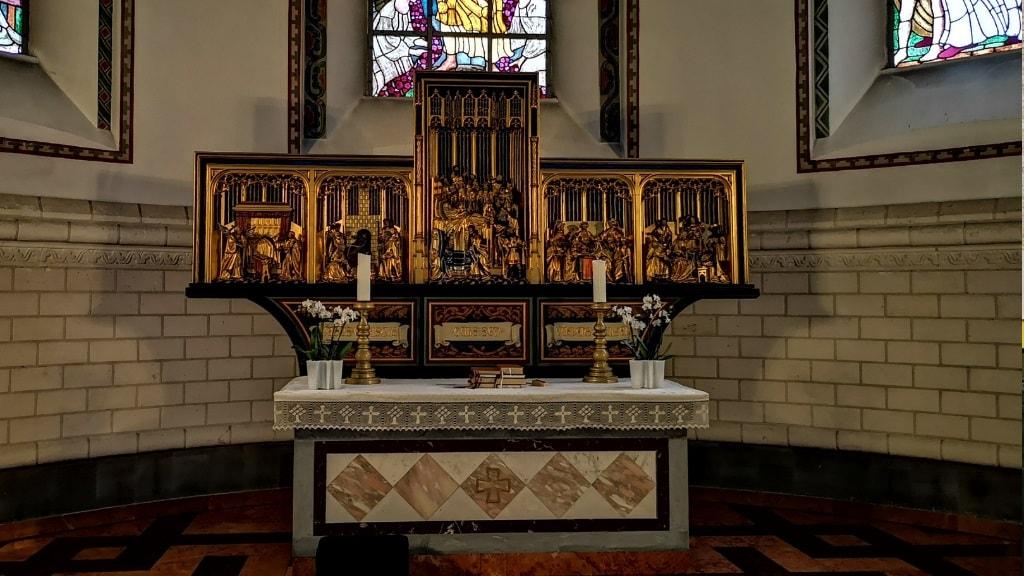 Holstebro Kirke - altertavle