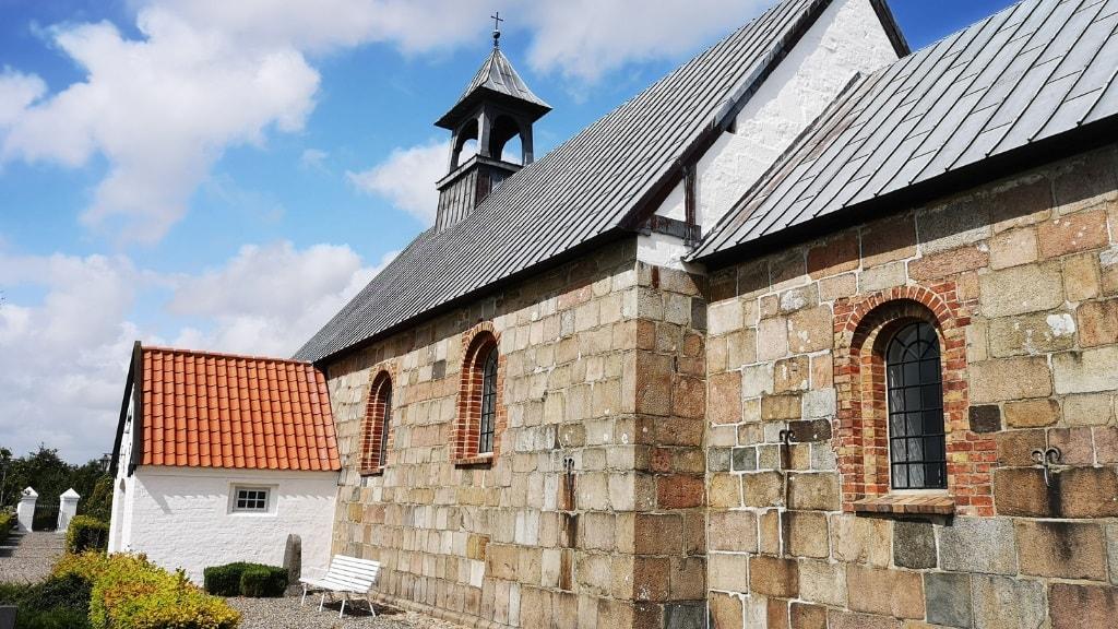 Nr. Felding Kirke - udefra