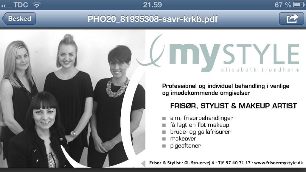 Frisør My Style