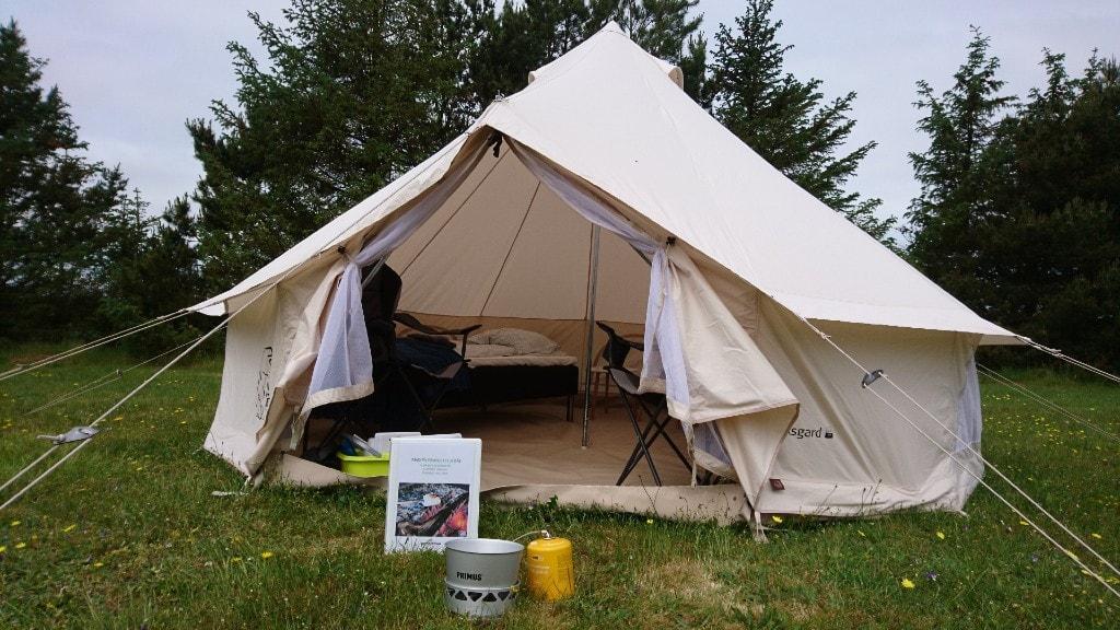 Glamping telt