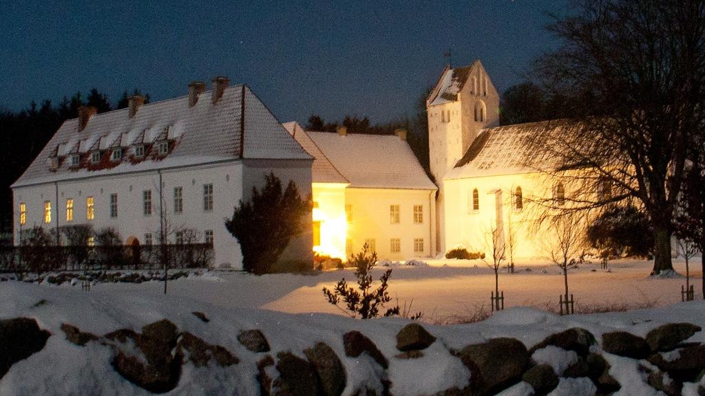 Weihnachten Kirche.Weihnachten In Oxholm Kirche Visitjammerbugten