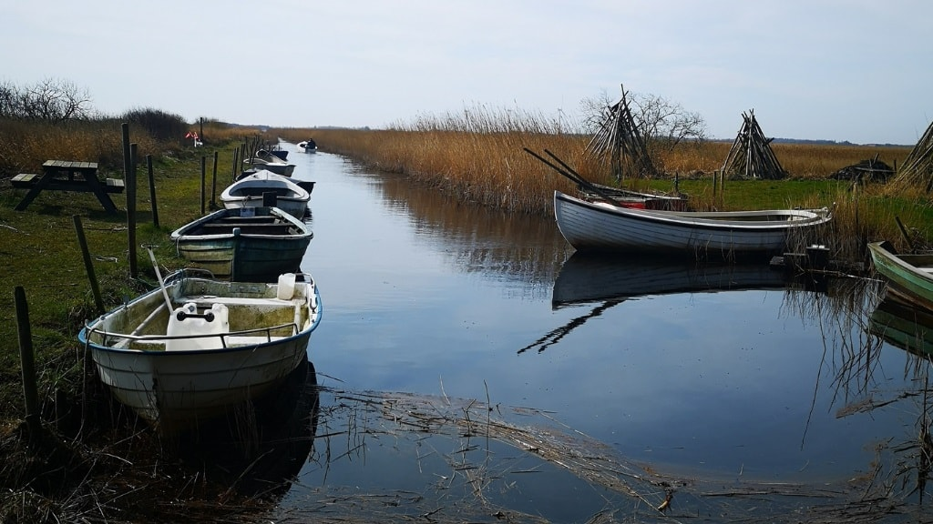 Bøvling Havn - Nissum Fjord - Indfjorden - Kanalen