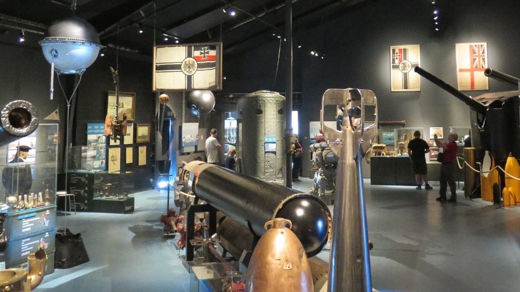 Sea War Museum - Museumsoversigt