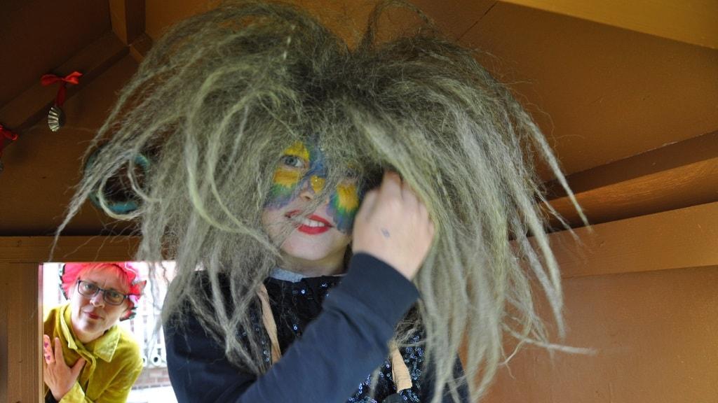 Tante Andante - Udklædt barn