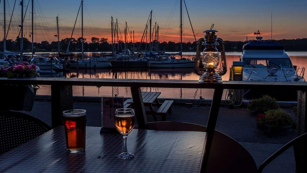 Præstø havn. Foto: Tage Klee