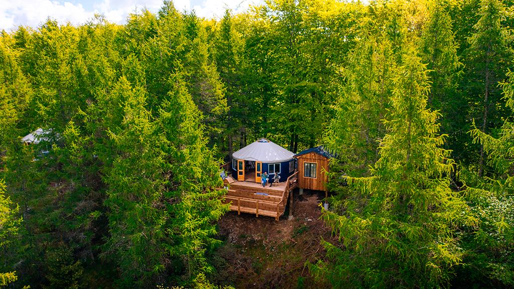 Overnat på Camp Adventure