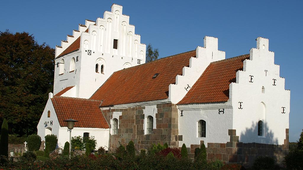 Ellinge Kirke Nyborg Kommune / Verner E. Eg