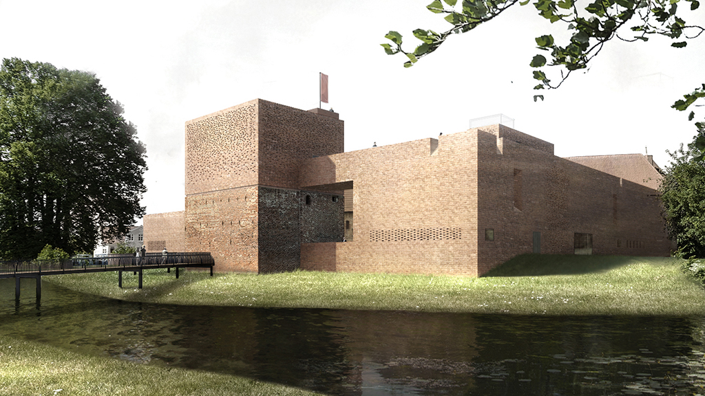 Slotsprojektet Nyborg Slot - arkitektkonkurrencens vinderforslag