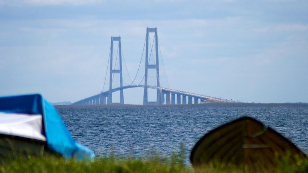 Storebæltsbroen Nyborg kysten