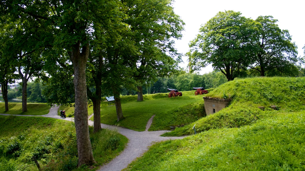 Nyborg Fæstning Voldgrav Voldanlæg Dronningens Bastion