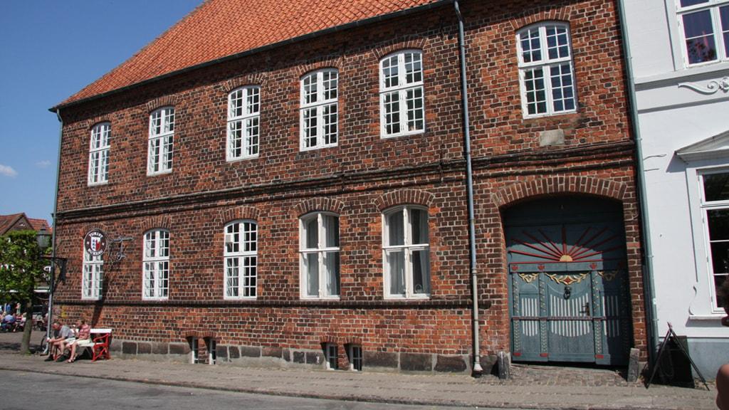 Bygningen Porsborg i Ribe