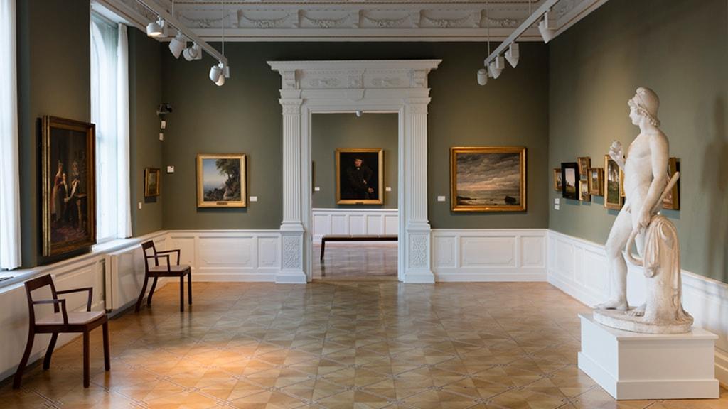Smukt rum i Ribe Kunstmuseum