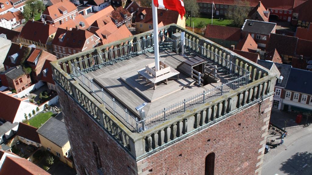 Borgertårnet med flag