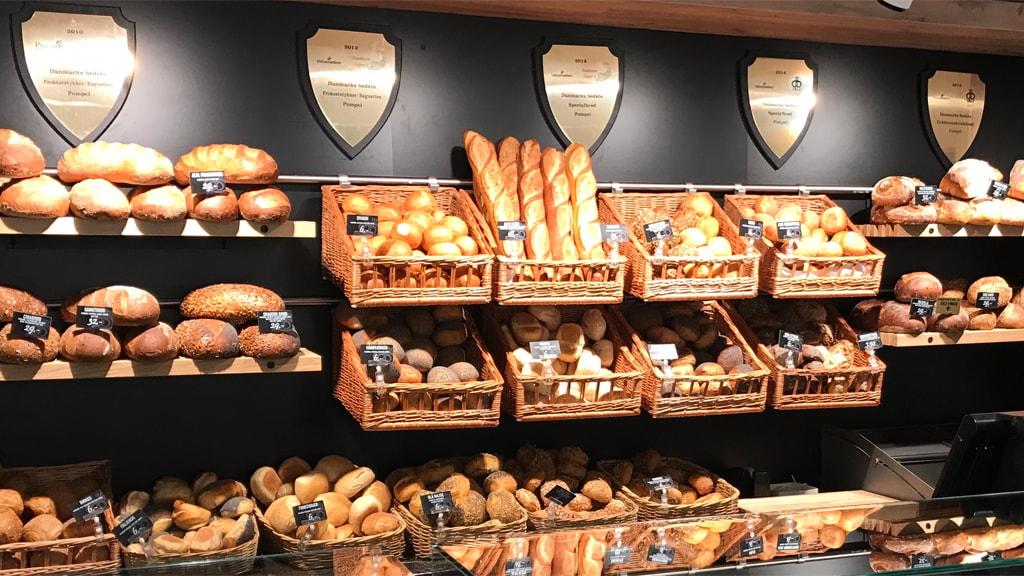 Brød fra Pompei Bageri i Ribe