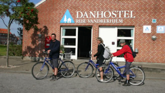 Cykeludlejning - Danhostel Ribe