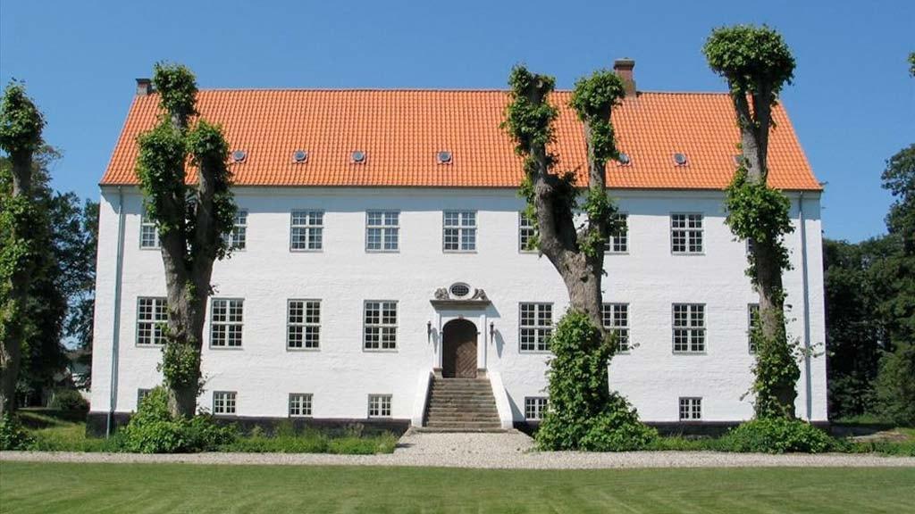 Facaden på Riber Kjærgaard