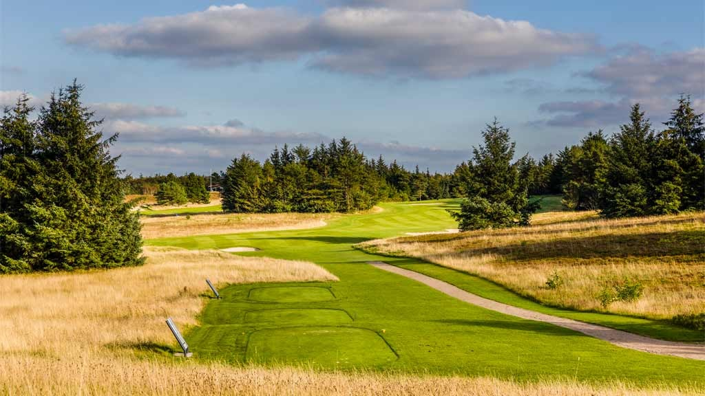 Esbjerg Golfklub - flot grøn marbækbane