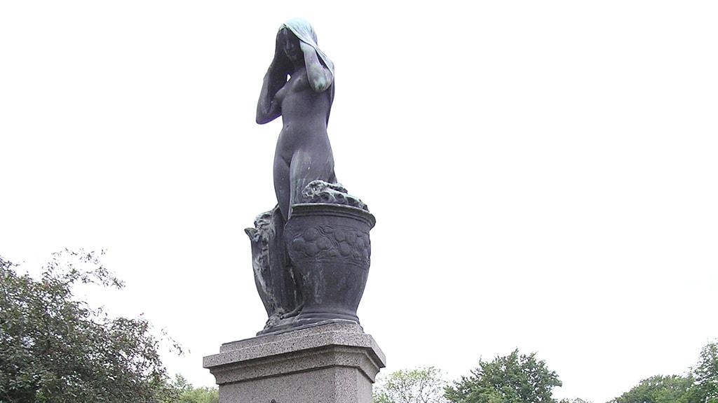 Monumentet Gærpigen i Ribe