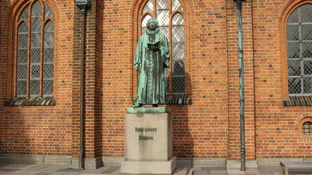 Statue Hans Adolf Brorson  Ribe